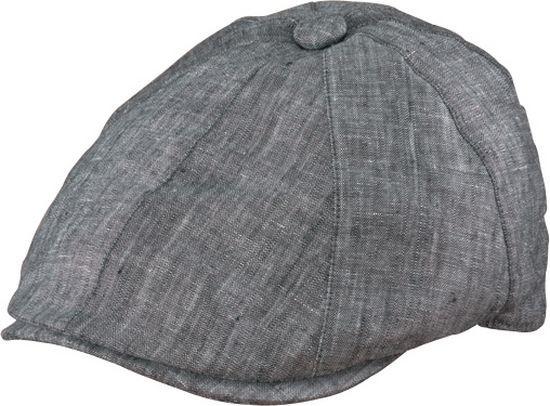 a2181da78ed Henschel. Henschel - Charcoal Linen Newsboy Cap