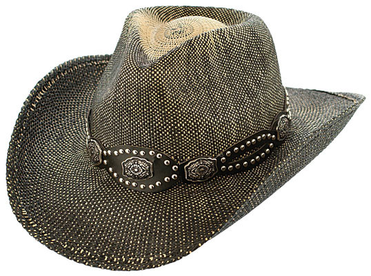 f07de5699 Kenny K - Flower Studded Cowboy Hat