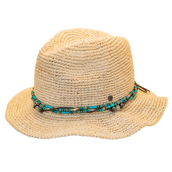 5e62e6abfd28b8 Kooringal | Bora Bora Straw Fedora Hat | Hats Unlimited