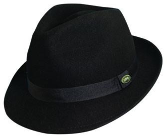 479cb675c2c Dorfman Pacific. Dorfman Pacific - Crushable Wool Felt Fedora Hat