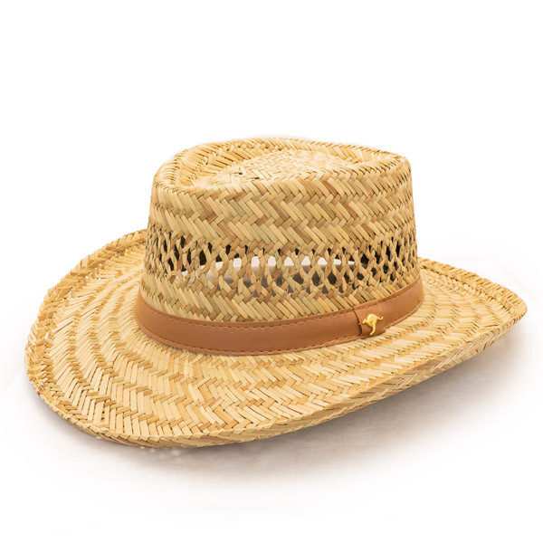 Dorfman Pacific - Murray Rush Gambler Straw Sun Hat - 967d86f0b1af
