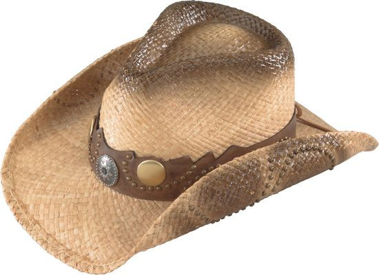 Henschel. Henschel - Walker Straw Cowboy Hat abab6a77573c