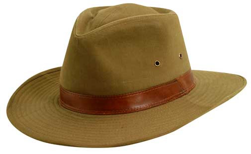 Dorfman Pacific. Dorfman Pacific - Twill Outback Hat 954d9b4fd90
