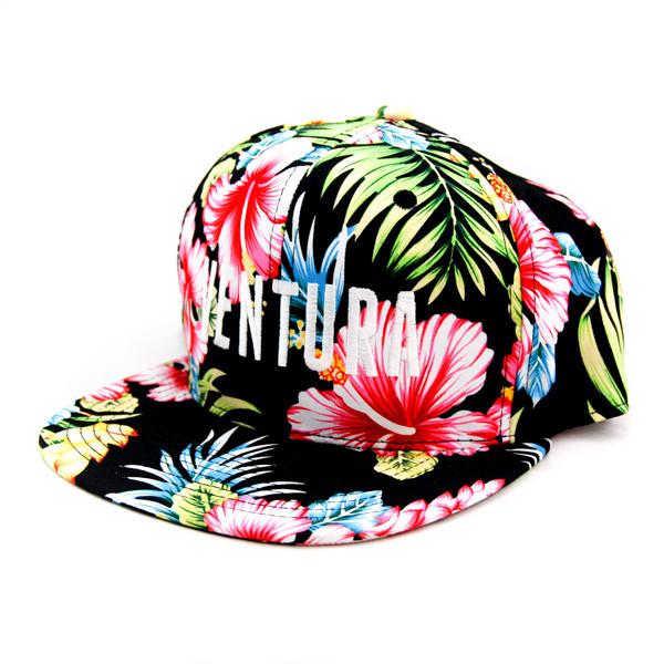 f4e3163df508d Hats Unlimited. Hats Unlimited - Ventura Tropical Snapback