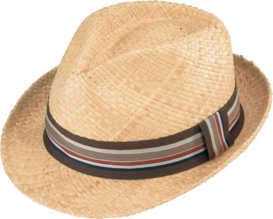 cd5458adf37f2 Henschel. Henschel - Light Raffia Fedora Hat