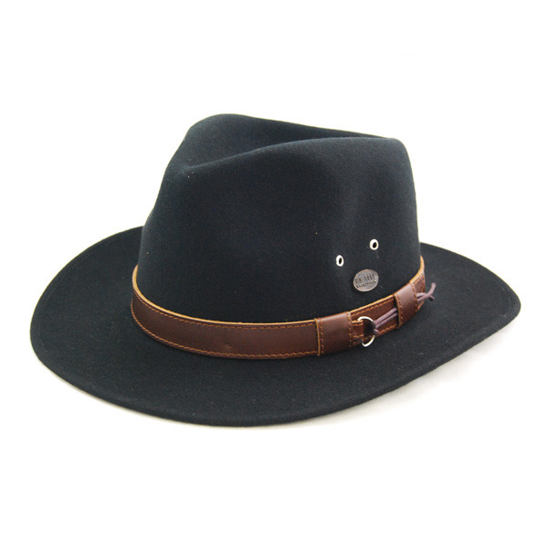 a4ba9f9f4376d Bigalli. Bigalli - Outback Felt Fedora Hat
