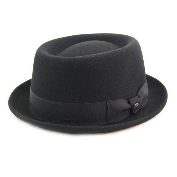 ce6e3d34b05 Bigalli. Bigalli - Wool Felt Porkpie Hat