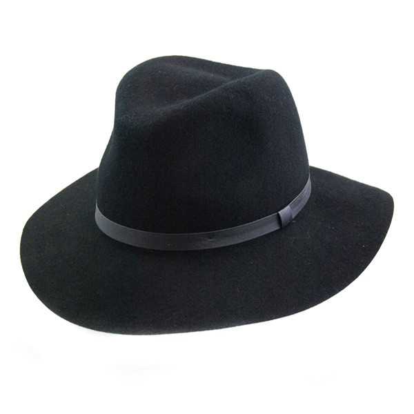 24f27e195e214 Jeanne Simmons. Jeanne Simmons - Wool Felt Floppy Fedora Hat