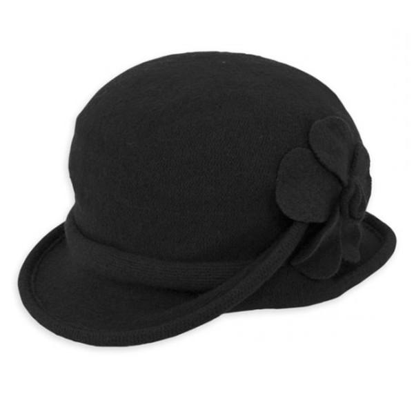 1e853222860 Adora - Galin Soft Wool Cloche Hat
