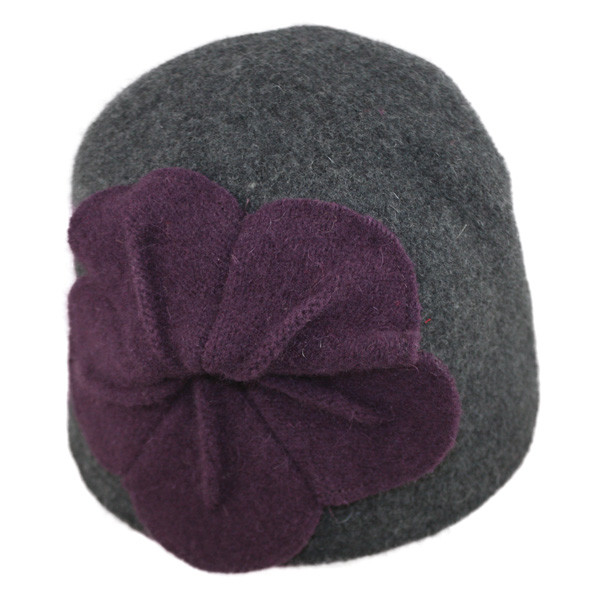 a875a7ebb59f5c Jeanne Simmons | Boiled Wool Cloche Hat | Hats Unlimited