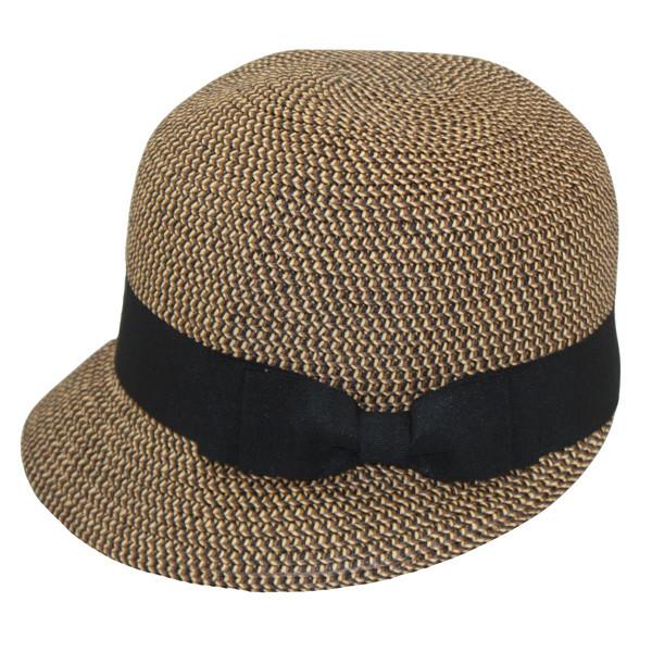Jeanne Simmons - Brown Tweed Backless Bucket Hat d7028fb36ee6