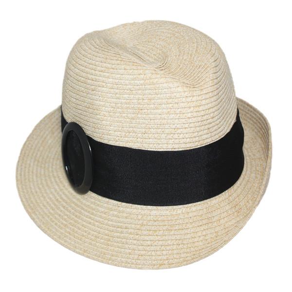 89c1963f7185 Jeanne Simmons - Paper Braid Fedora Hat