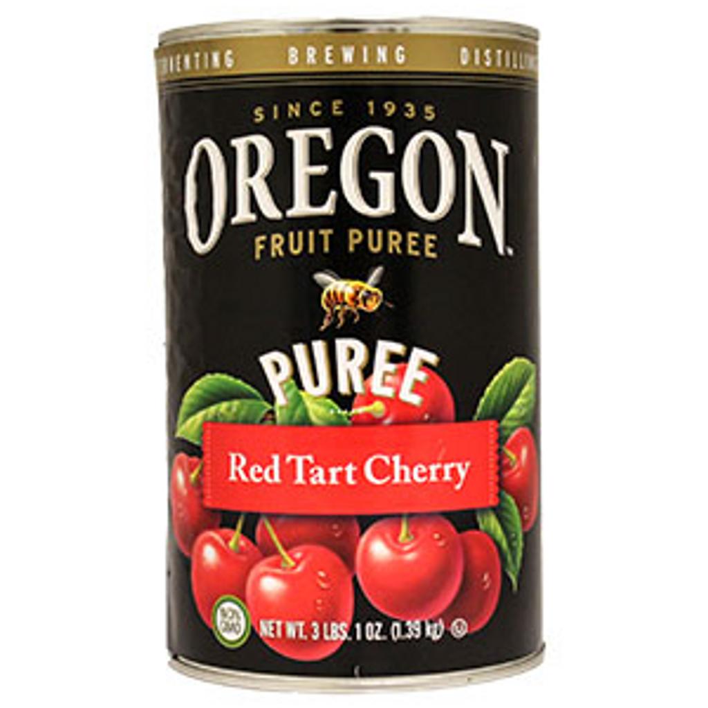 Oregon Fruit Red Tart Cherry Puree 49 oz