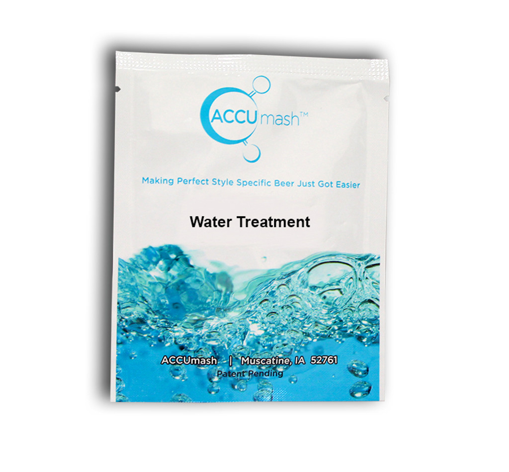 ACCUmash Water Treatment SRM >26, Malty, 1.045-1.065 OG