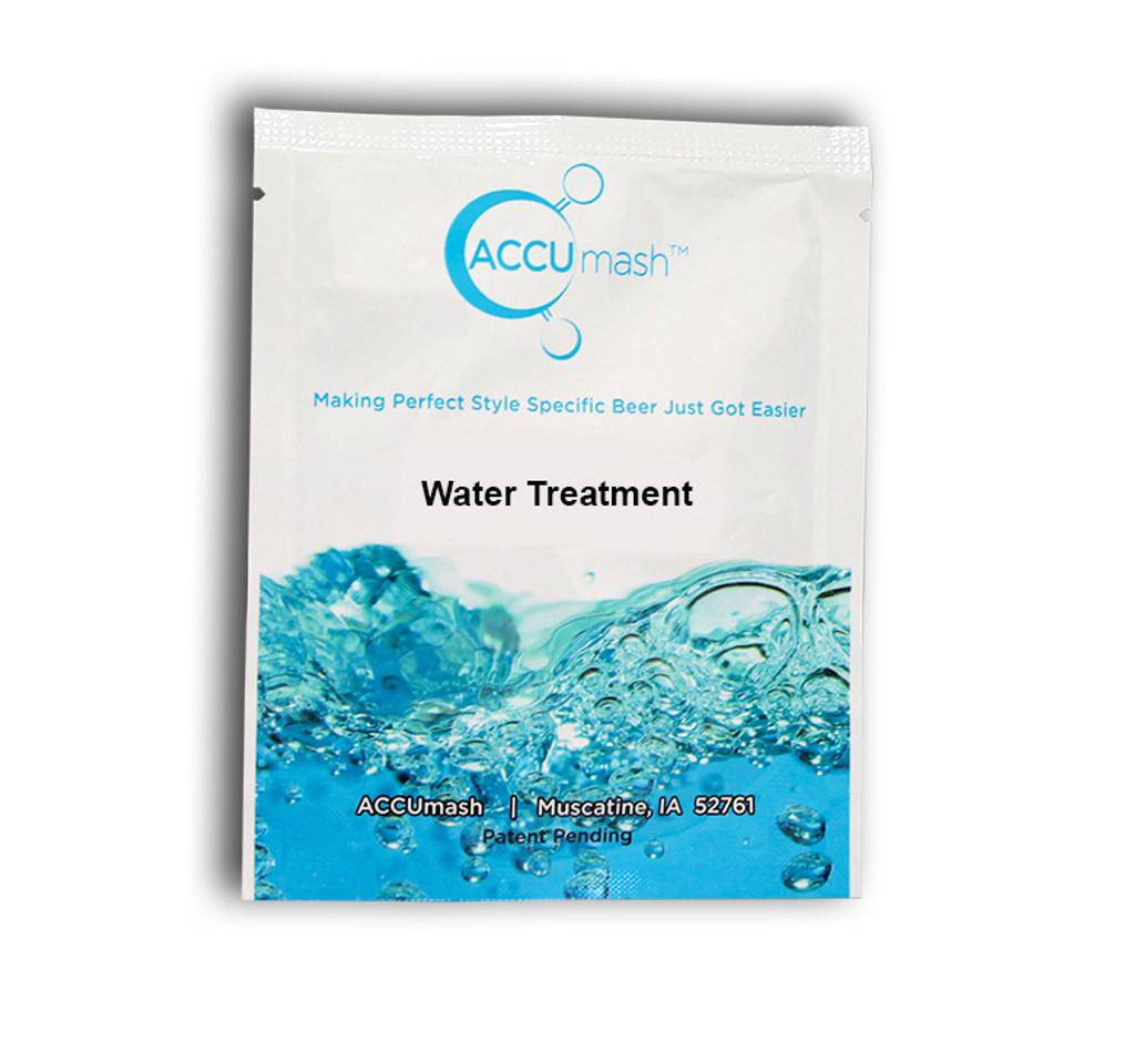 ACCUmash Water Treatment SRM >26, Malty, 1.75-1.090 OG
