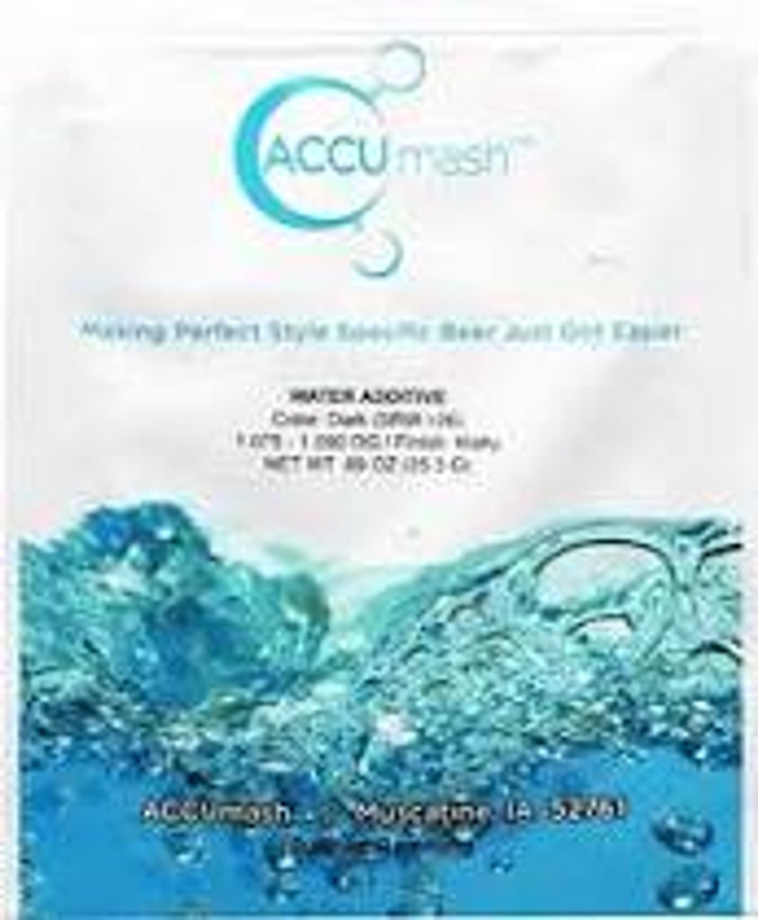 ACCUmash Water Treatment SRM >26, Malty, 1.075-1.090 OG
