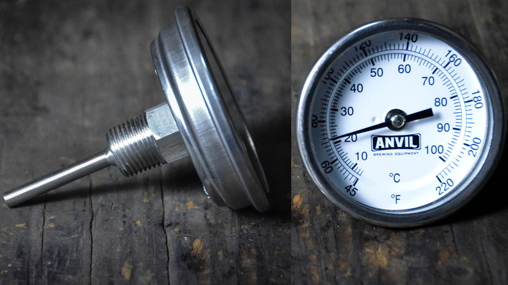 Anvil Thermometer NPT