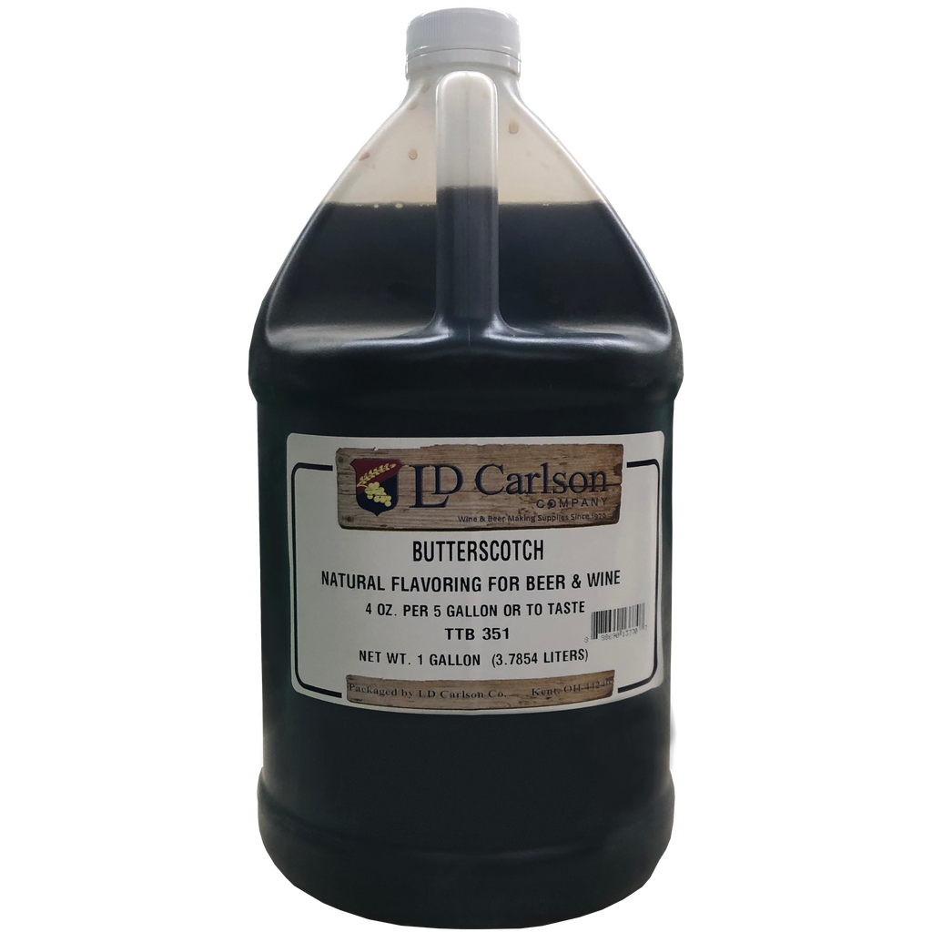 Natural Butterscotch Flavoring 128 oz