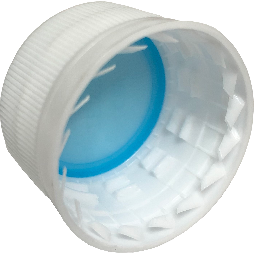 28mm P.E.T. Plastic Bottle Caps 12 ct.