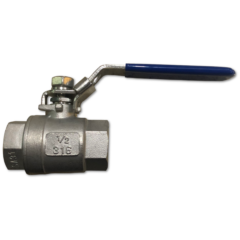 Two Piece Ball Valve 1/2 inch