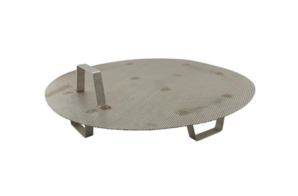 Stainless Steel False Bottom with Legs for 8 Gallon Kettle