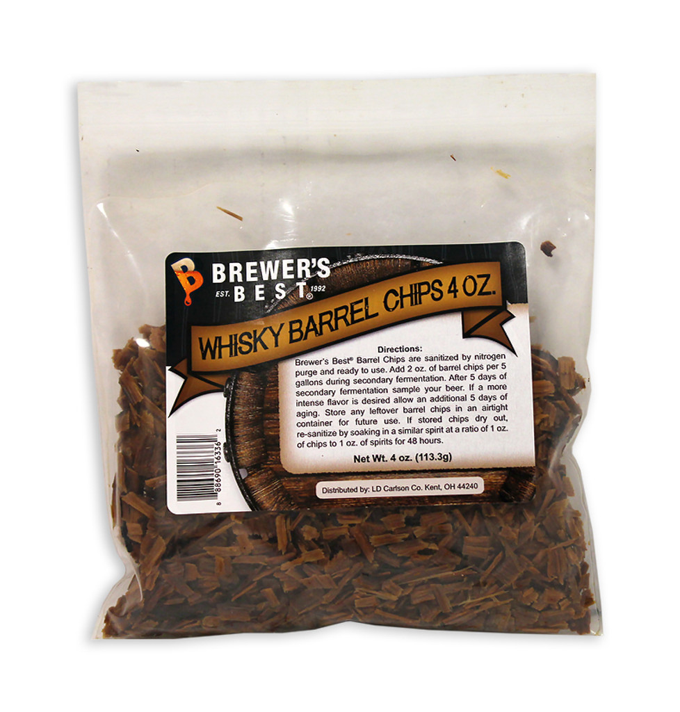 Brewers Best Whisky Barrel Chips 4 oz
