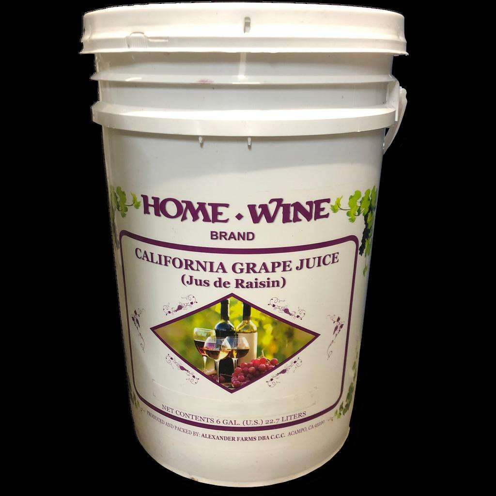 California Cabernet Sauvignon Juice
