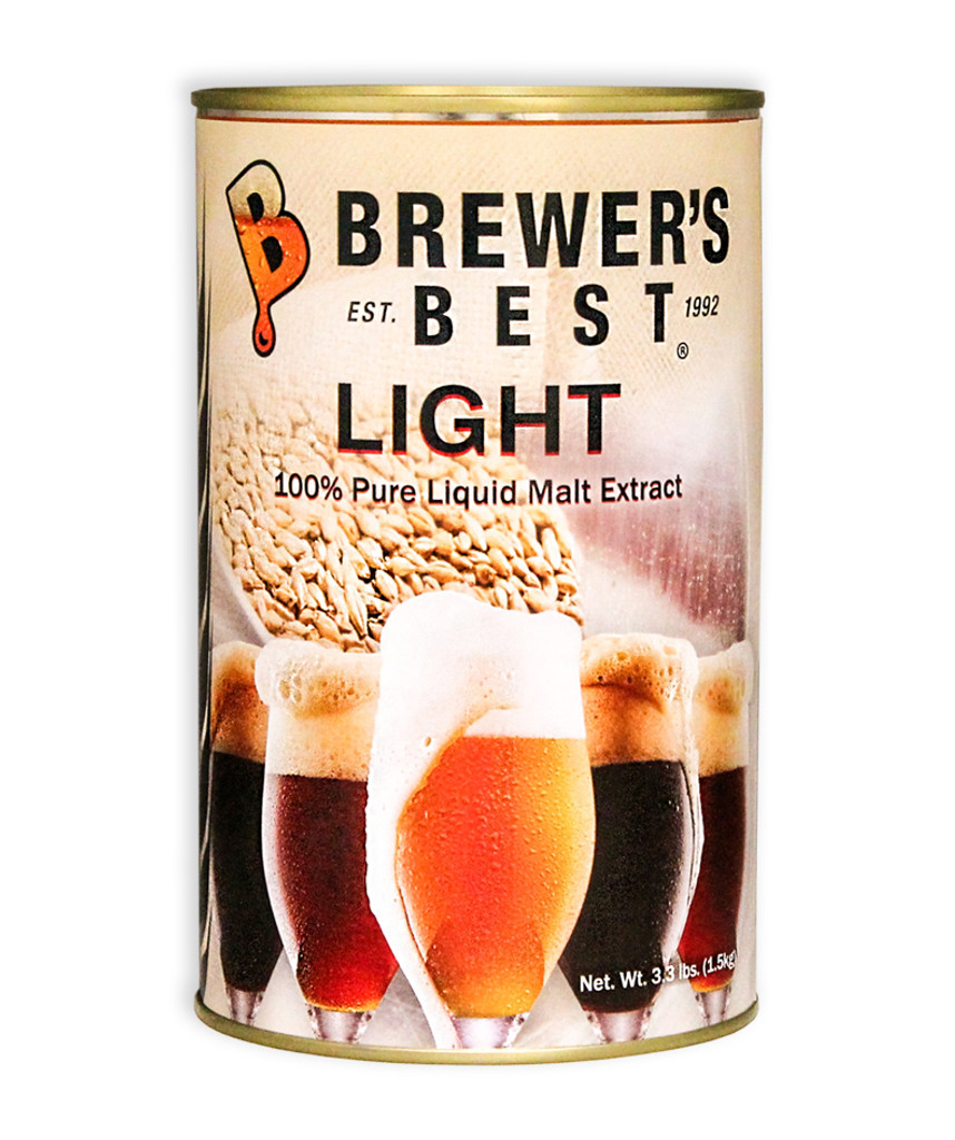Brewer's Best Light Liquid Malt Extract 3.3 lb