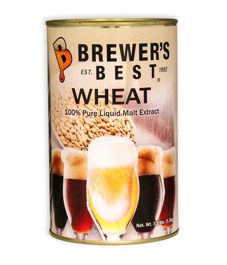 Brewer's Best Wheat Liquid Malt Extract 3.3 lb