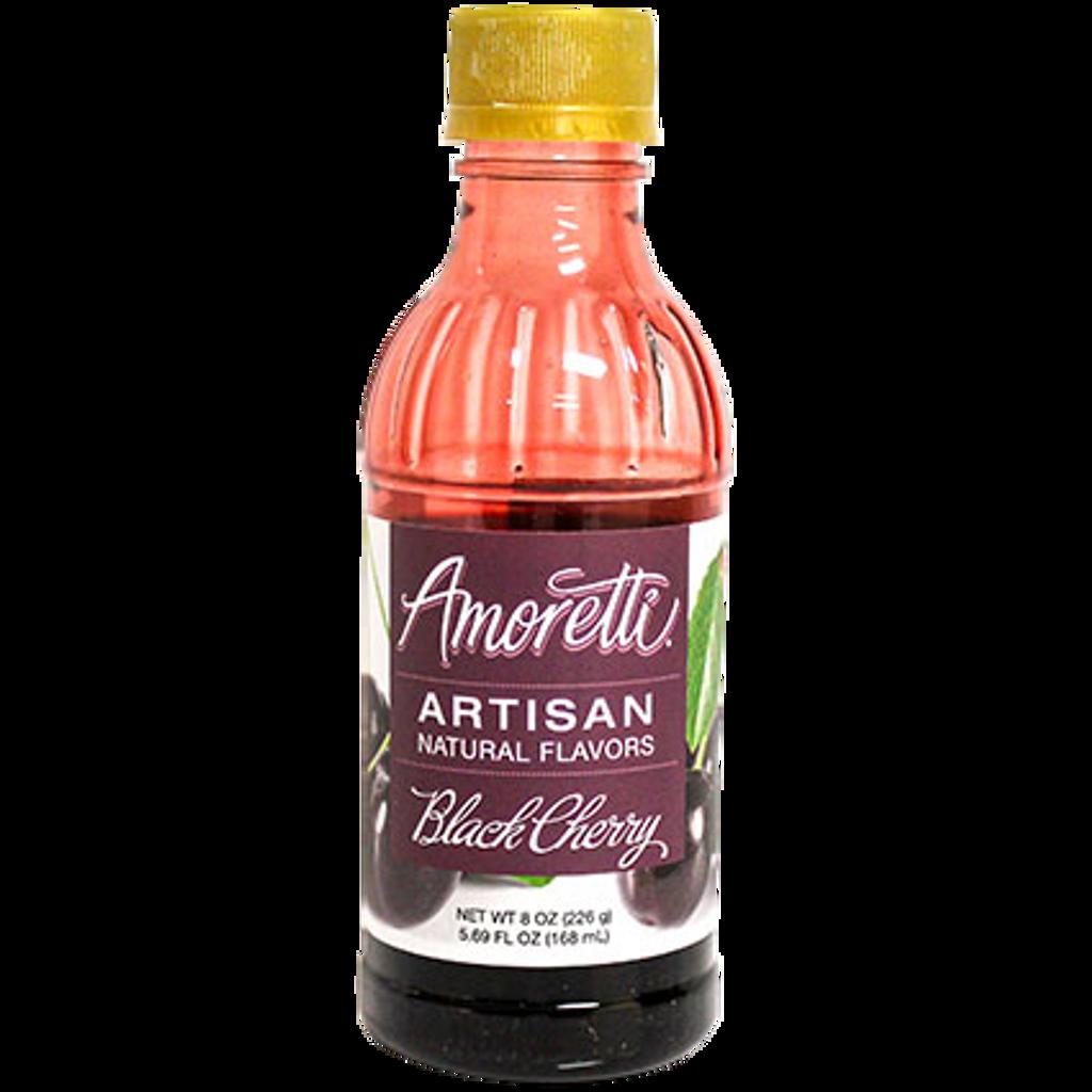 Black Cherry Fruit Puree 8 oz