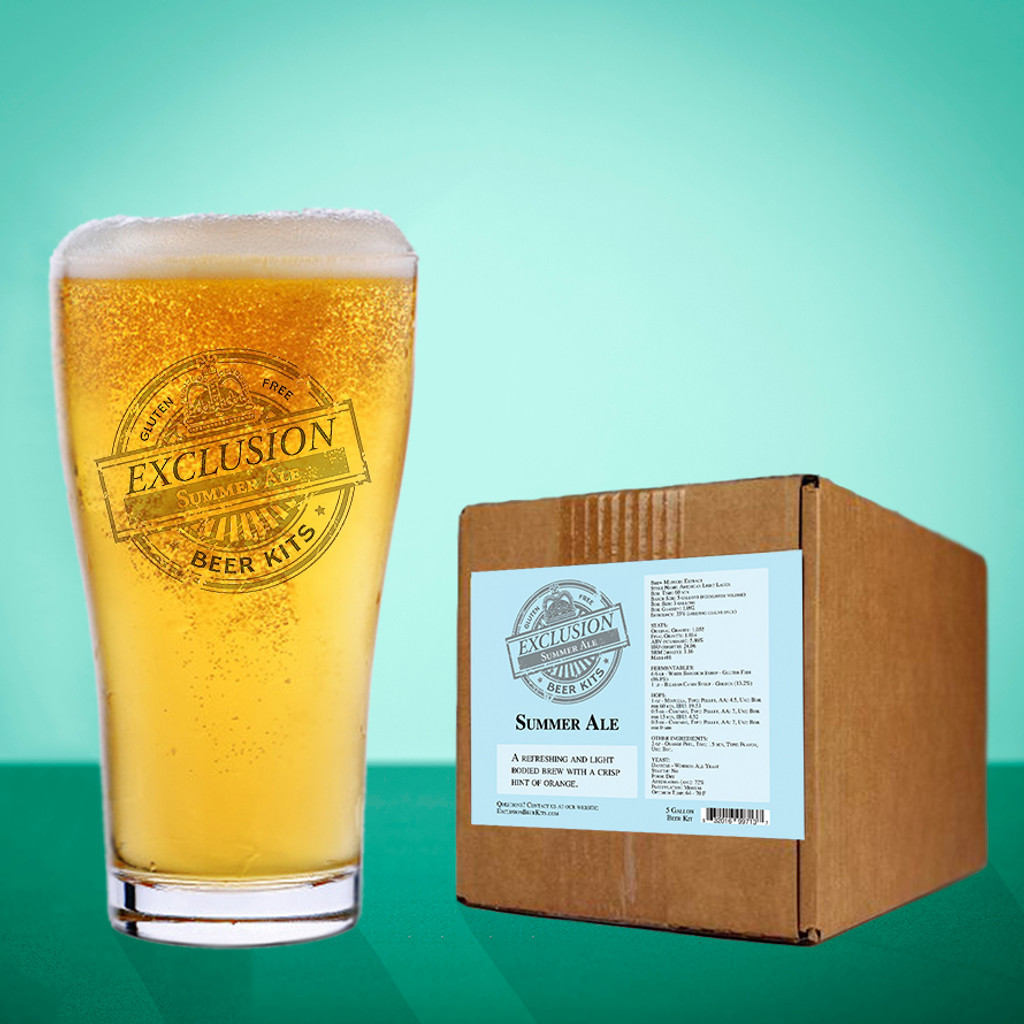 Summer Ale Gluten Free Beer Kit
