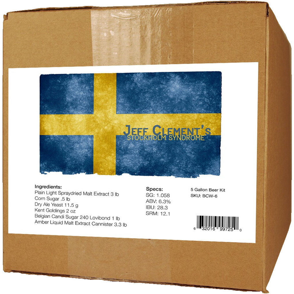 Stockholm Syndrome Beer Kit