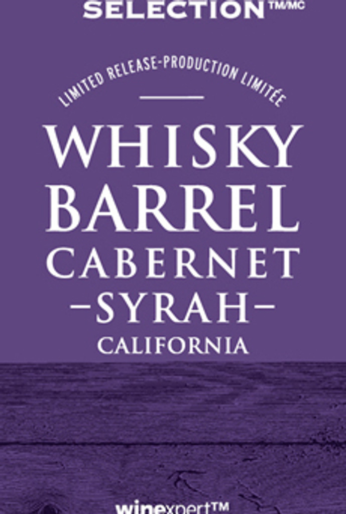 Selection Whisky Barrel Cab Syrah Wine Kit (Limited)