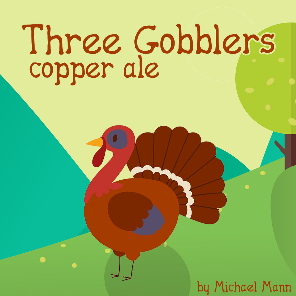 Three Gobblers Copper Ale Beer Kit