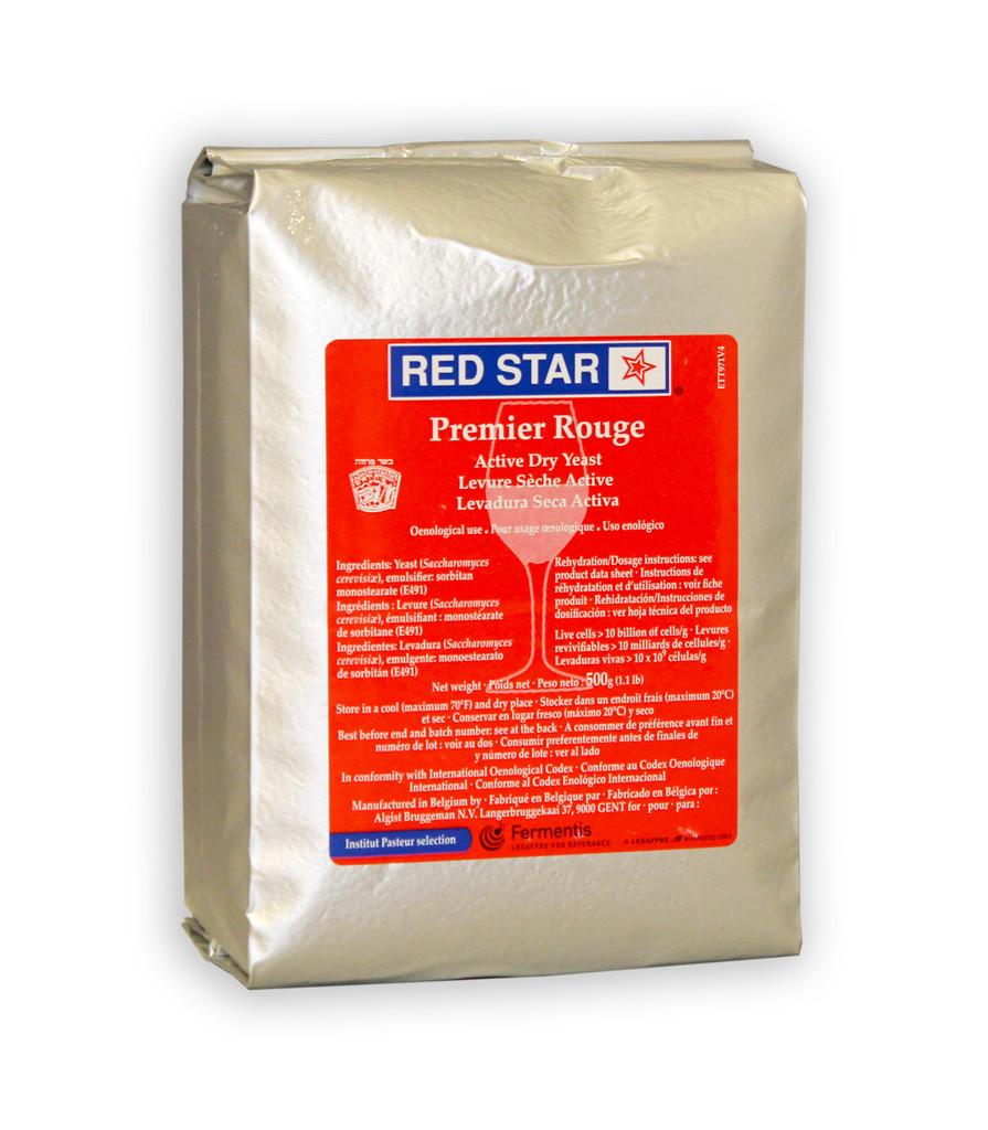 Red Star Premier Rouge Wine Yeast 500g Brick