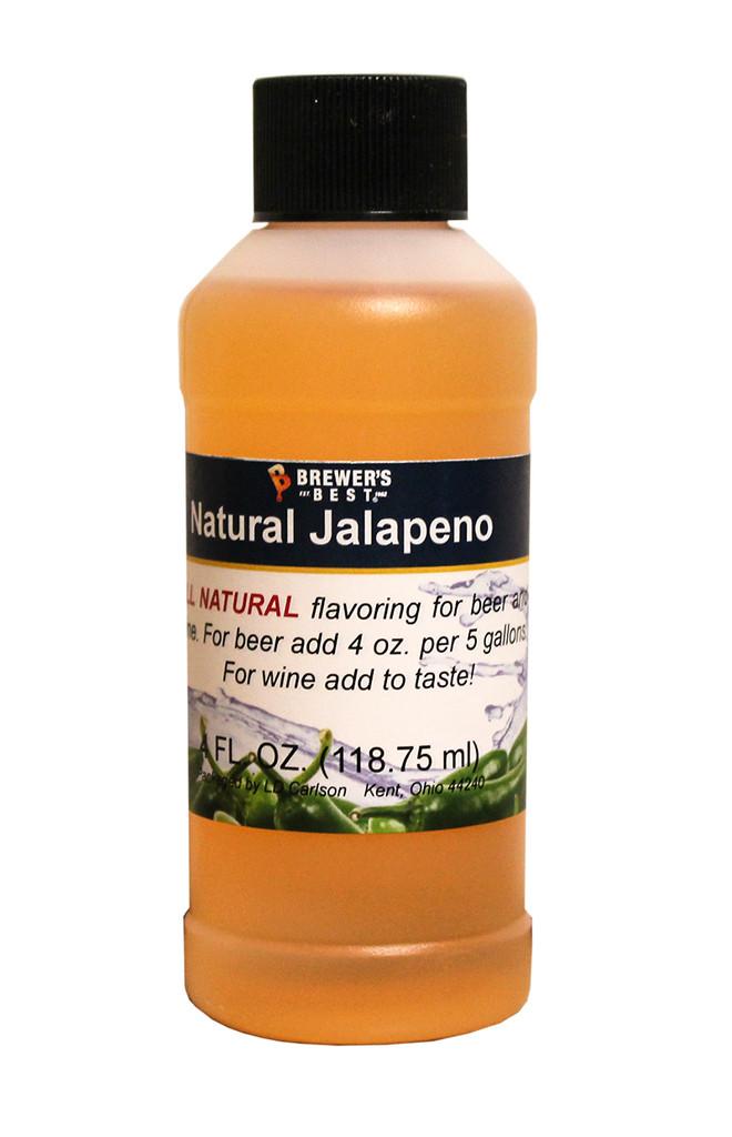 Natural Jalapeno Flavoring 4 oz