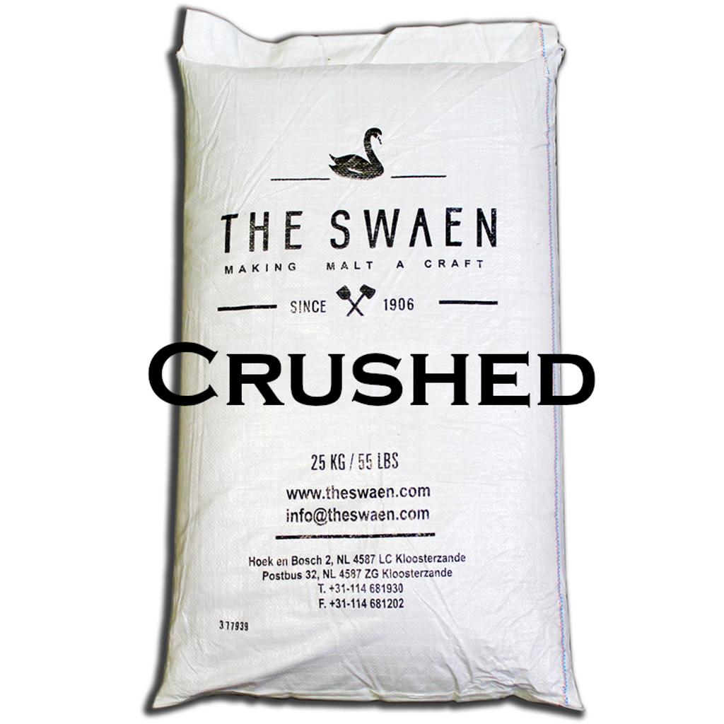 BlackSwaen Crushed Unmalted Barley 55 lb