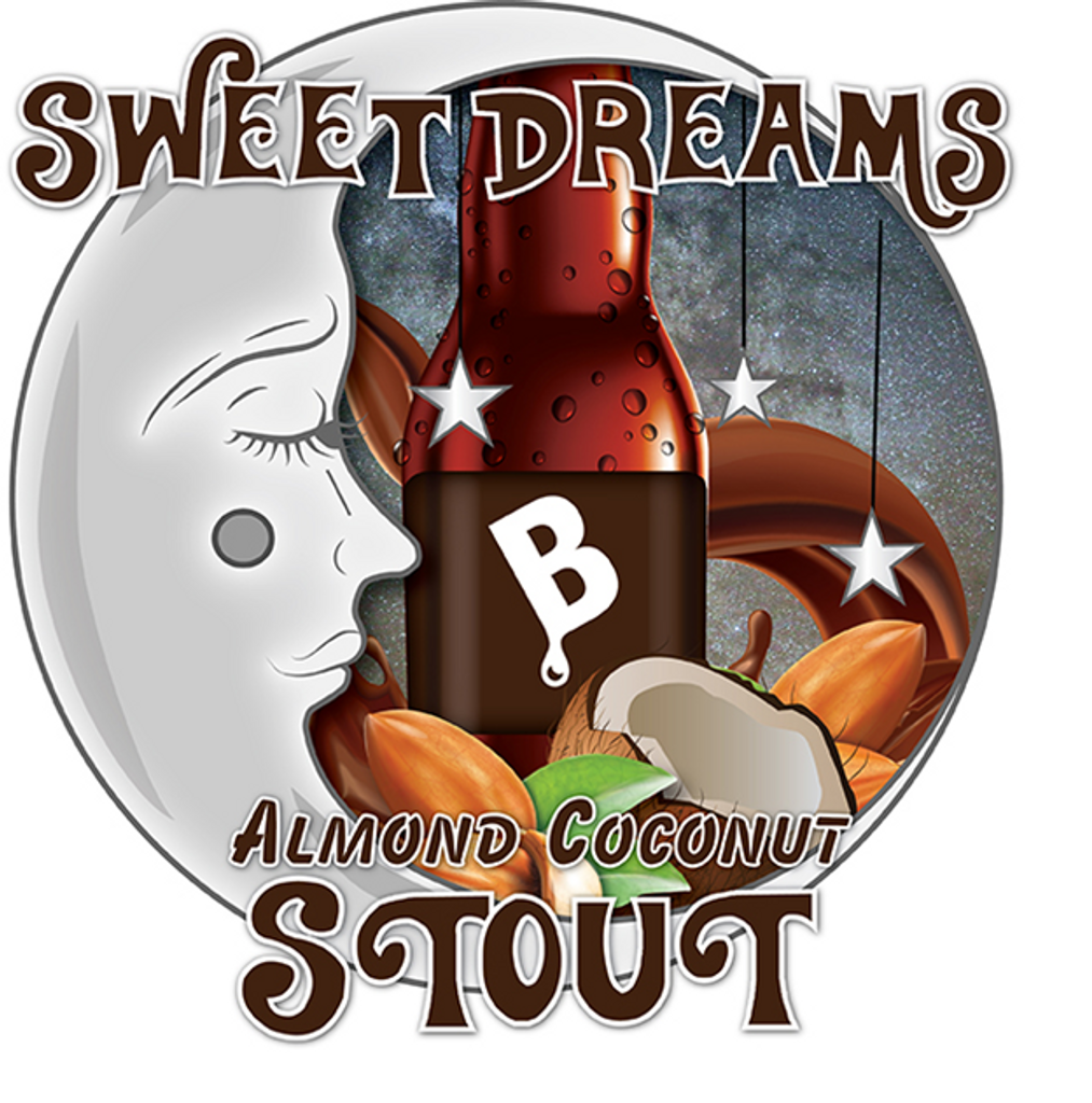 Limited Release Sweet Dreams Coconut Almond Stout Beer Kit