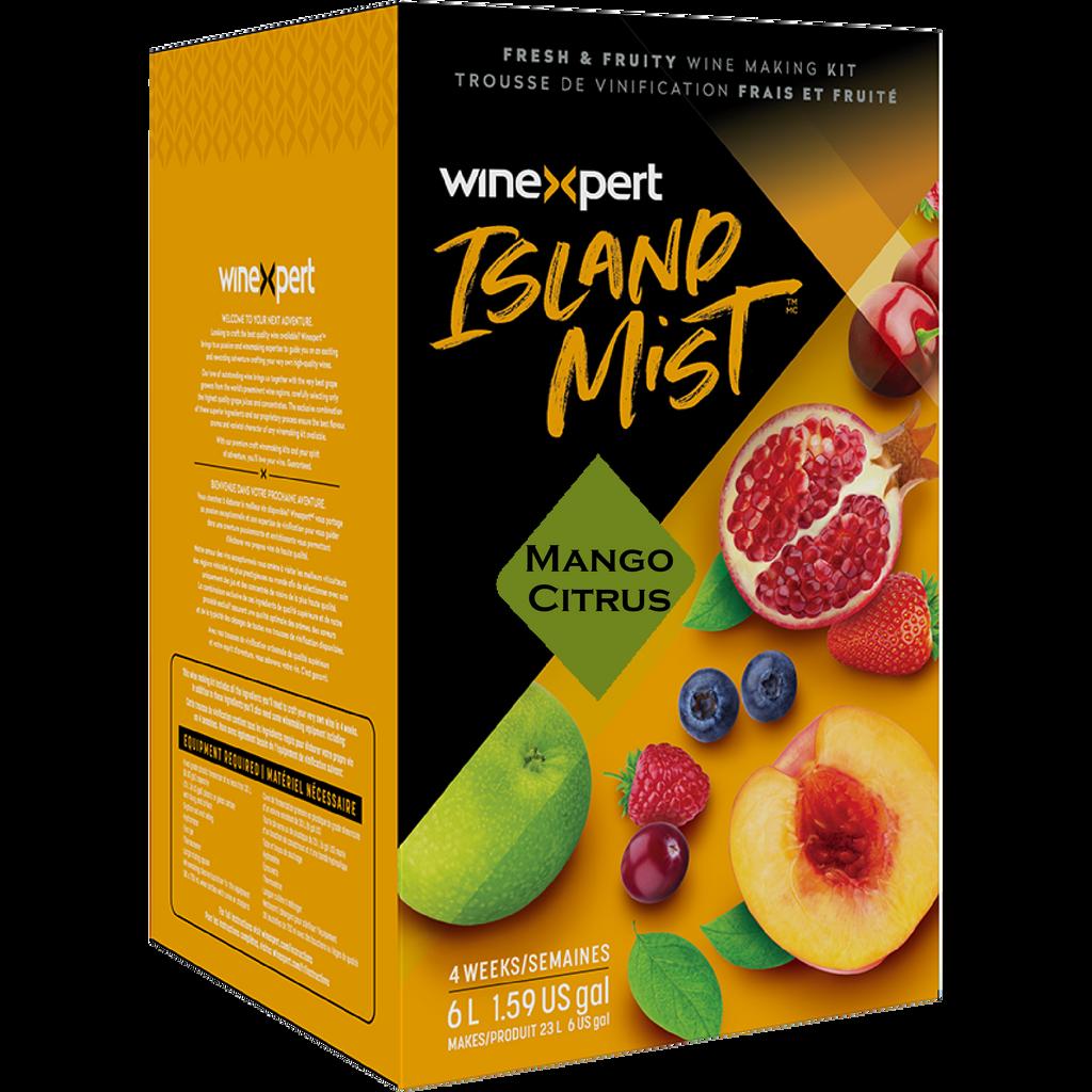 Island Mist Mango Citrus Wine Kits