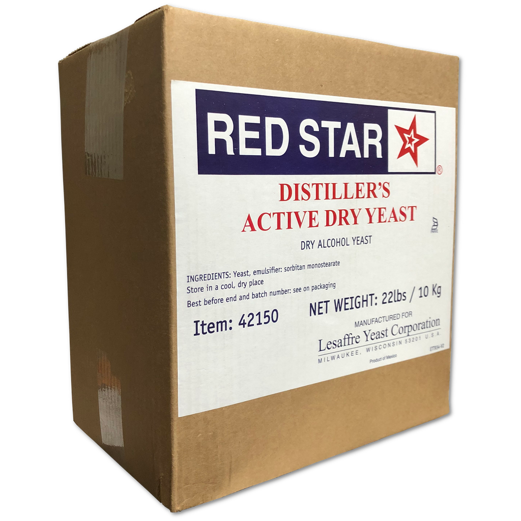 DADY - Red Star Distillers Yeast 22 lb Bulk