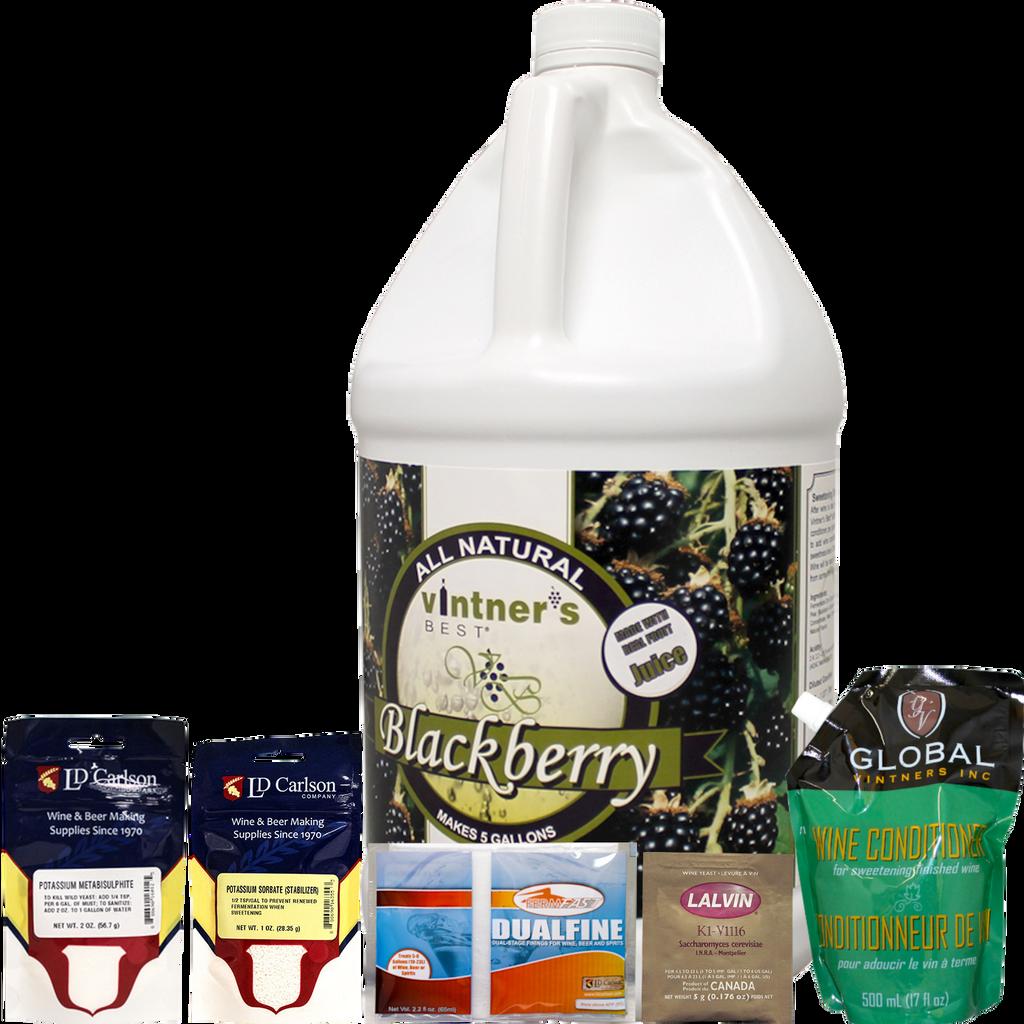 Blackberry Fruit Wine Kit