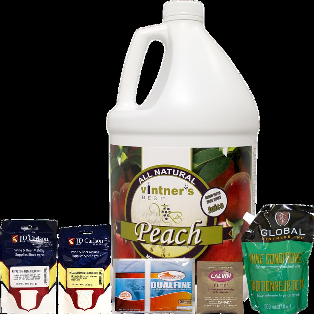 Peach Fruit Wine Kit