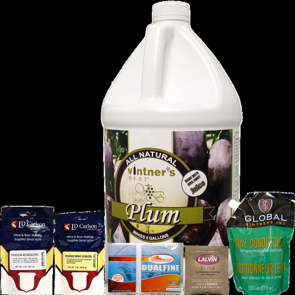 Plum Fruit Wine Kit