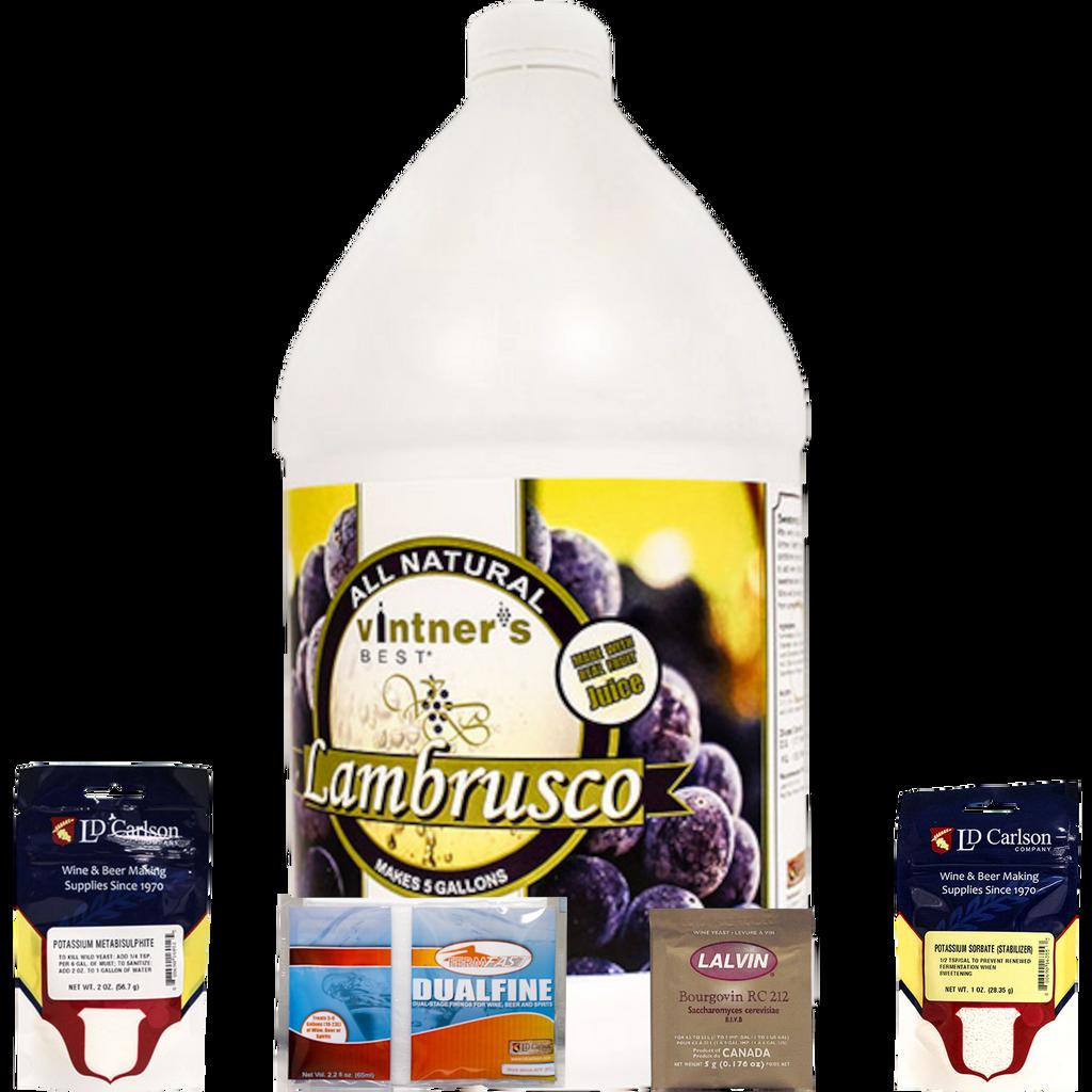 Lambrusco Varietal Wine Kit