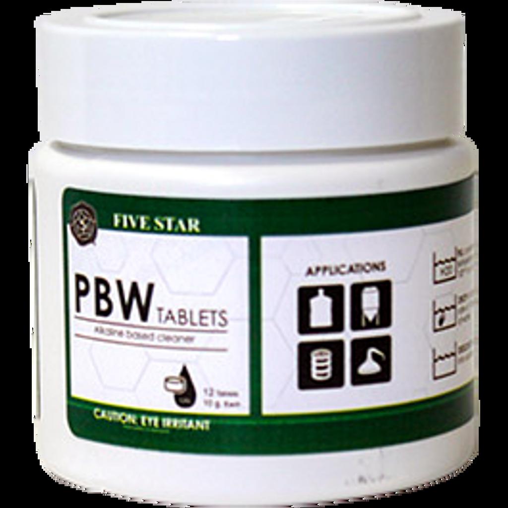 10g PBW Tablets 12 ct.