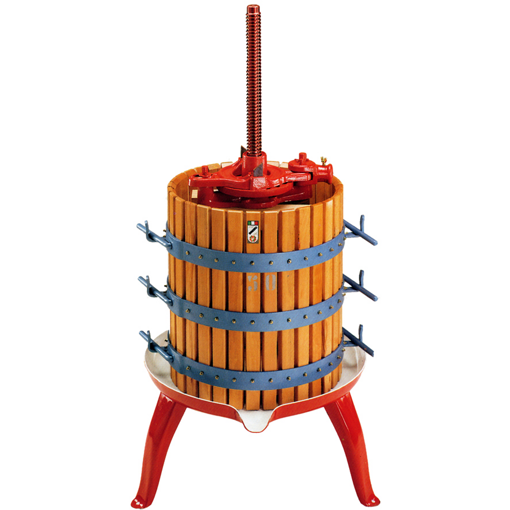 Ratchet Fruit Press #25 - 50 lb.