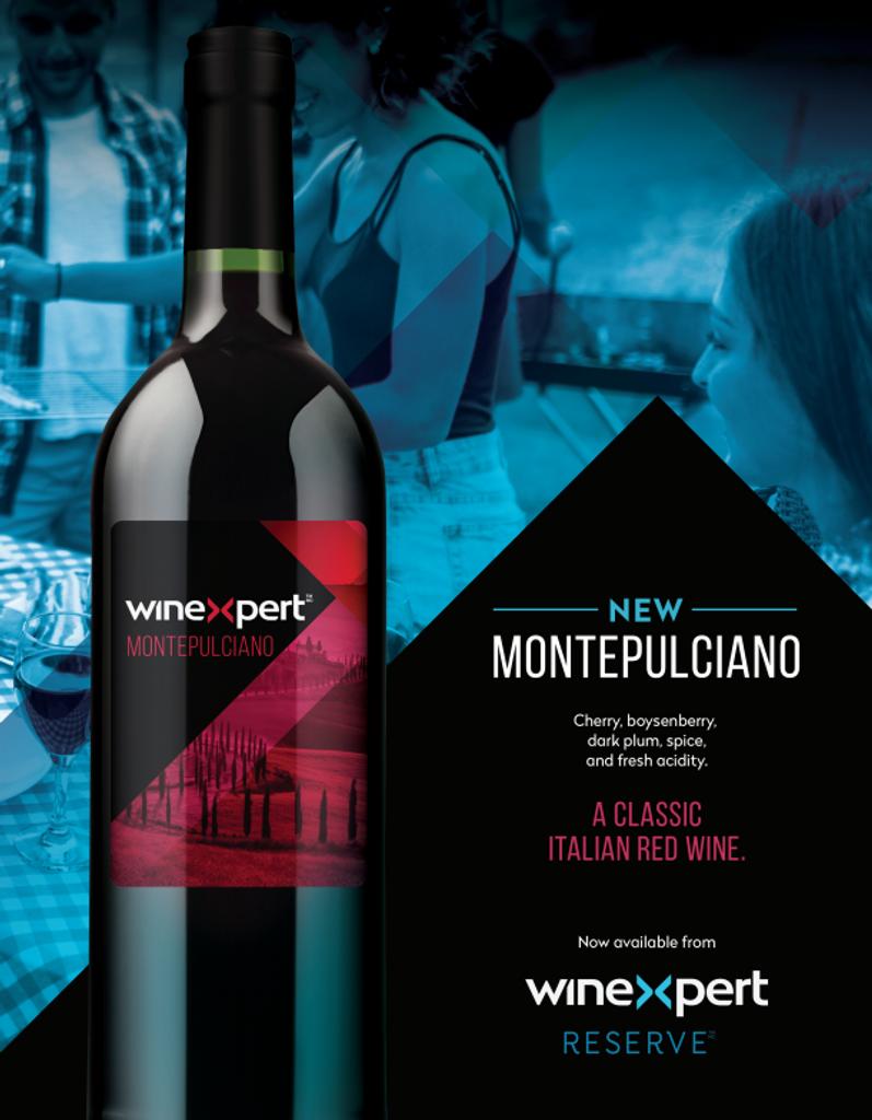 Reserve Italian Montepulciano 10L Wine Kit