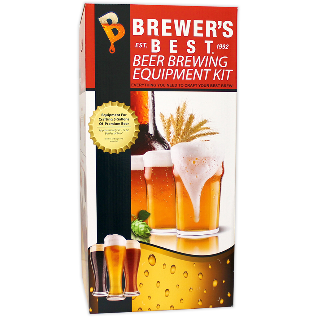 Brewers BeAst Equipment Kit with Plastic Carboy