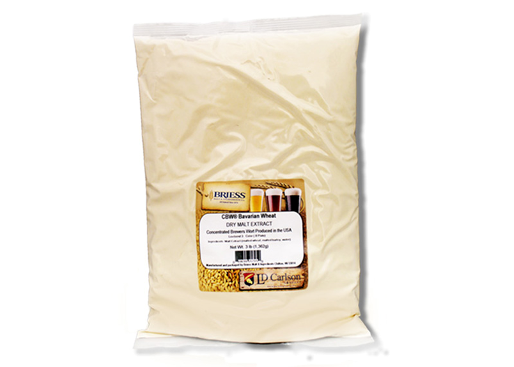 Briess Bavarian Wheat Dry Malt Extract 3 Lb