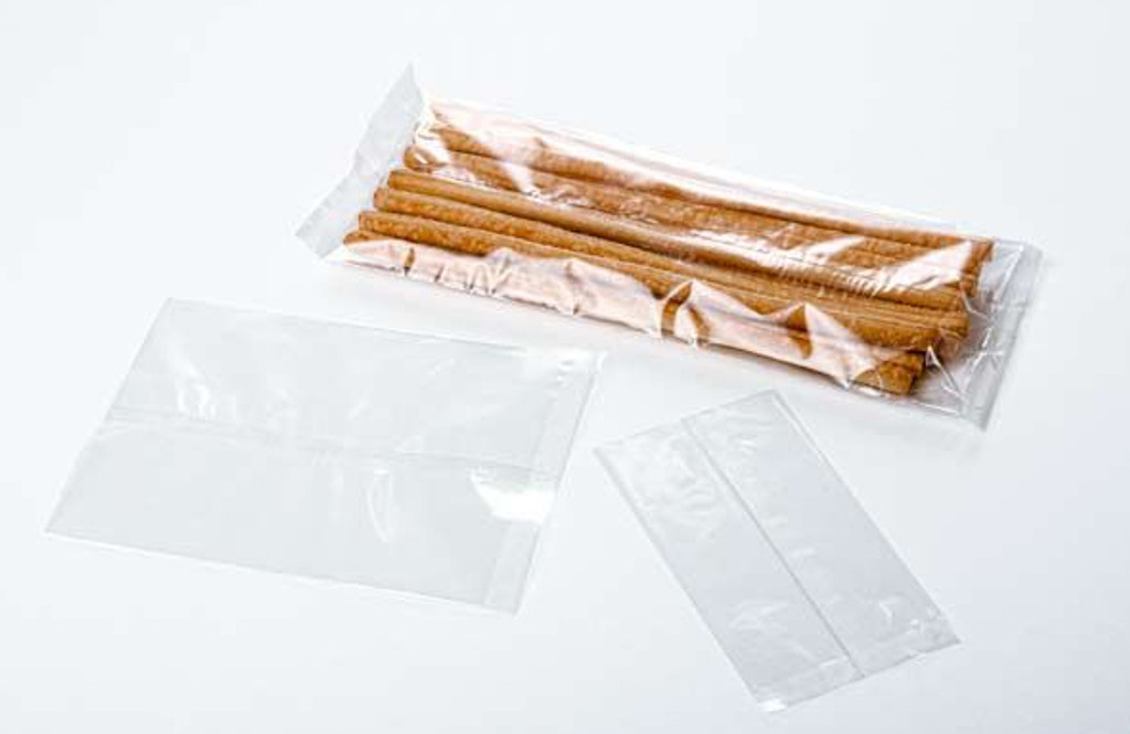 """Heat Sealable Clear Poly Bags 100 ct. 9"""" x 12"""" x .003"""